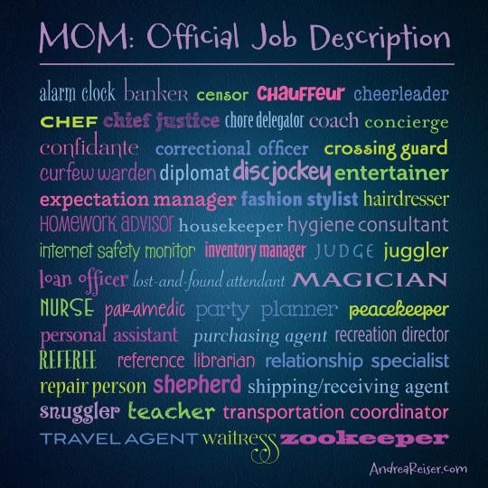 Mom-Official-Job-Description-540x540 - Andrea Reiser Andrea Reiser - purchasing agent job descriptions