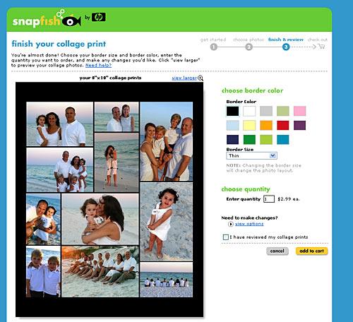 Snapfish Photo Collage Prints - for scrapbooking asteed\u0027slife