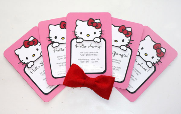 Hello Kitty Birthday Party - 5 Year Old asteed\u0027slife