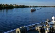 Начало плавания к острову Валаам.