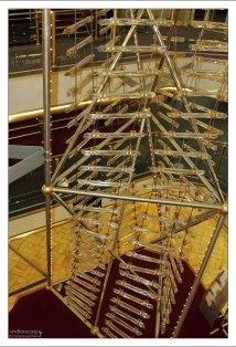 Хрустальные веревочные лестницы на пароме Принцесса Анастасия.