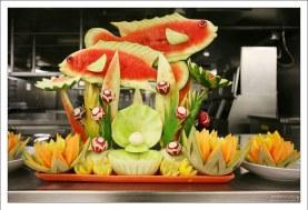 Творение кухонных мастеров.
