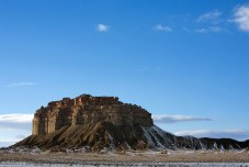 Около границы индейской резервации Навахо.