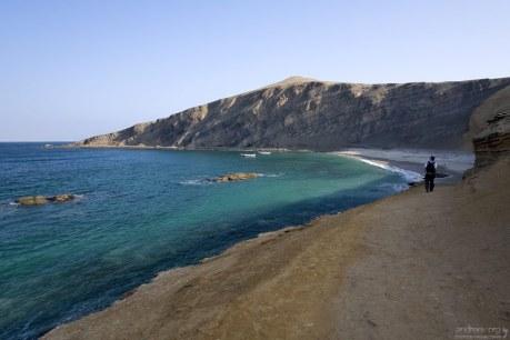 Около рыбацкой деревушки La Mina в заповеднике Paracas.