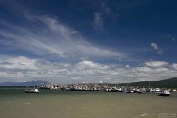 Порт в Пуэрто-Наталесе.