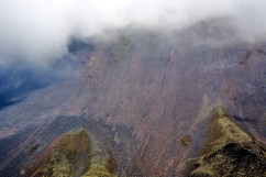 Стены кратера вулкана Аренал.