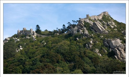 Castelo dos Mouros - замок раннего Средневековья (9-10 век).