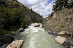 Бурные воды реки Ascencio.