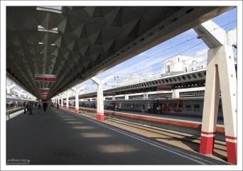 Платформы Московского вокзала.