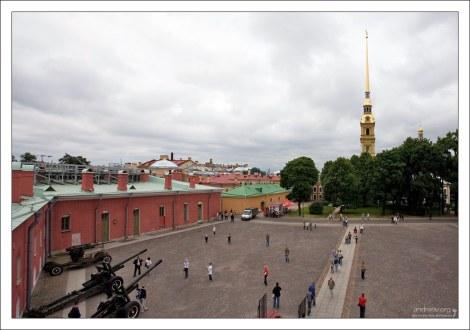 Нарышкин бастион Петропавловской крепости.