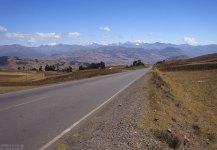 Шоссе в Священную долину Инков.