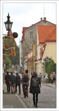 Улица Uus, где расположено посольство Литвы.