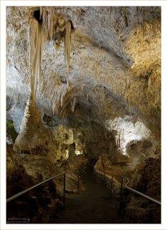 На выходе из пещер.