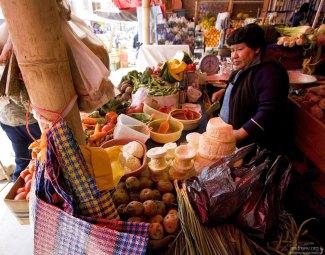 Традиционный рынок в Наске.