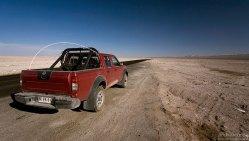 Арендованный Nissan Terrano 4x4.