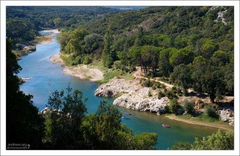Река Гардон (она же Гар или Гард). Протяженность 133 километра.
