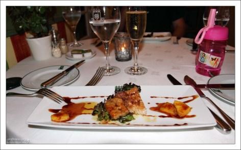 """Ужин в ресторане """"Lawrence's Hotel""""."""