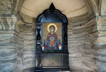Икона в роще около Валаамского монастыря.