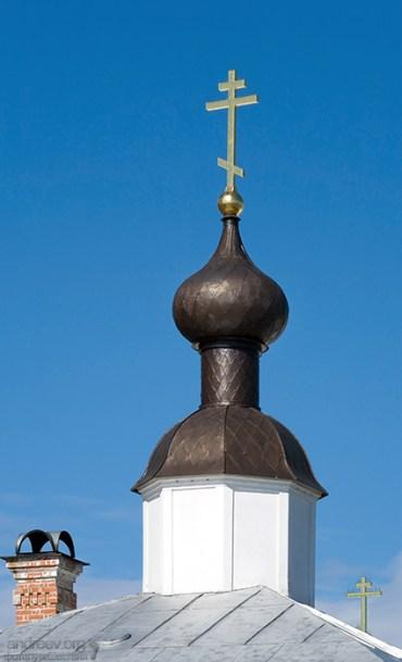 Один из куполов Преображенского собора.
