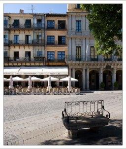 Сиеста. Сеговия, Испания.