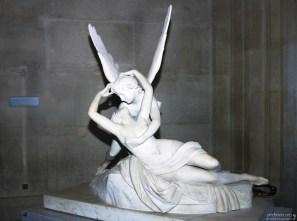 """Амур и Психея"" Антонио Канова (18-й век). Лувр."