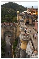 Башни и террасы Дворца Пена.