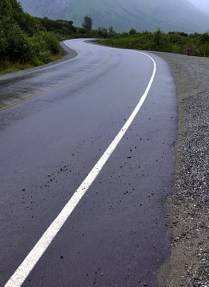 Горное шоссе. Перевал Hatcher Pass.