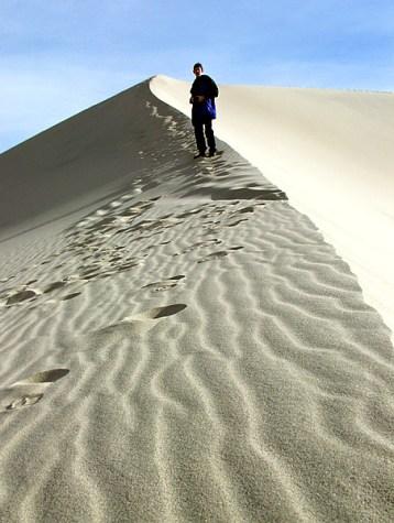 Дюна Eureka - самая высокая на территории США.