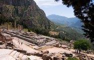 Фундамент Храма Аполлона.