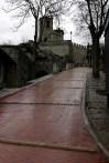 Мостовая к замку Castello della Guaita. Сан-Марино.