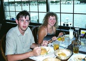 """Ужин в ресторане """"Корабль сокровищ"""". Panama City."""