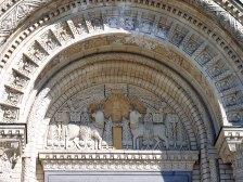 Арка над входом в Морской собор. Кронштадт.