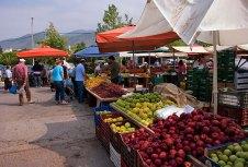 Рынок в Каламате (Kalamata).