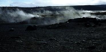 Раннее утро в парке. Hawai'i Volcanoes National Park.