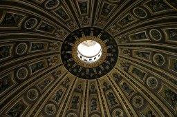 Купол собора Св. Петра. Дизайн - Микеланджело.