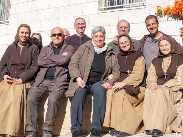 Natale 2014 ad Ain Arik con il patriarca Michel