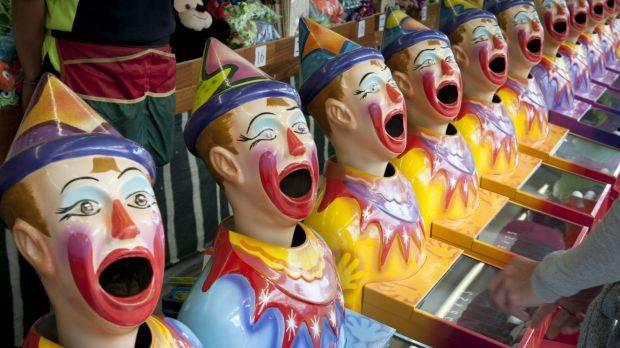 Clowns re vegetation management