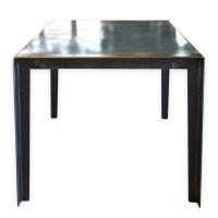 Zinc Top Dining Table | Zinc Top Table | Andrew Nebbett ...