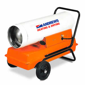 Model 40 Direct Fired Portable Oil Heater