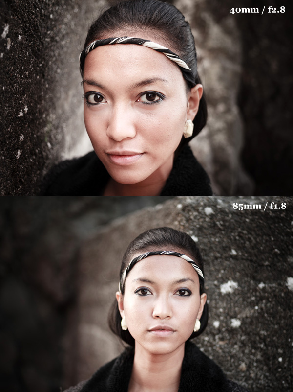 Portrait lens comparison