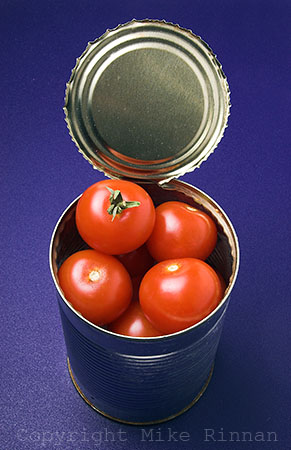 Photo Can of Tomatoes