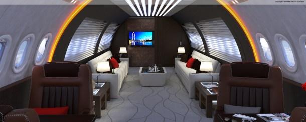 Concept design. Presented to Fokker Aviation.