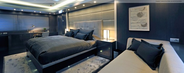 I helped in the specification + project management  + selection of finishes, fabrics, fittings etc. Client Liaison.