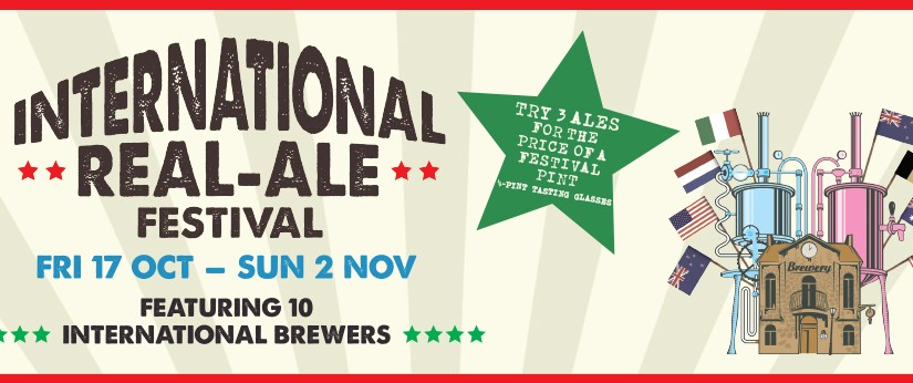 Wetherspoon's International Real Ales Festival 17th October 2014 Beer List