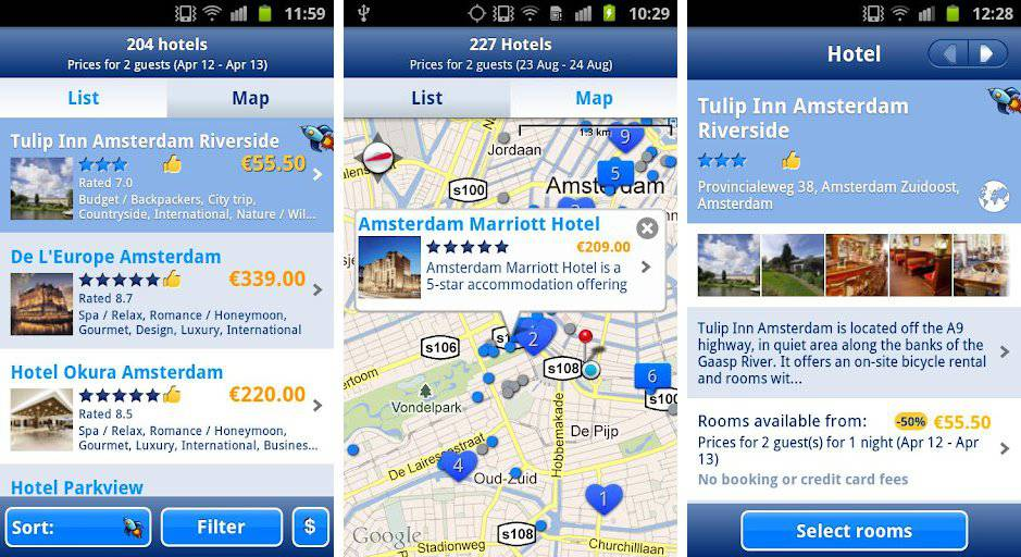 Best Android apps for finding cheap hotels - Android Authority - booking app