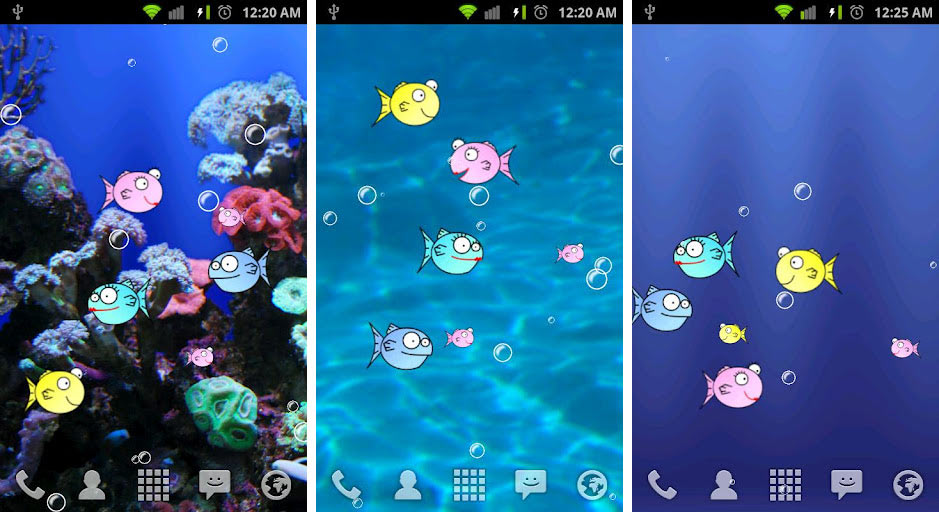 Animated Fish Tank Wallpaper Best Aquarium And Fish Live Wallpapers For Android