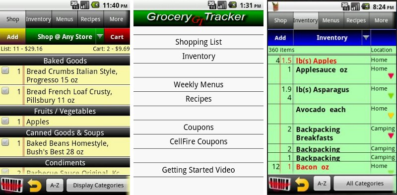 Best grocery list apps for Android