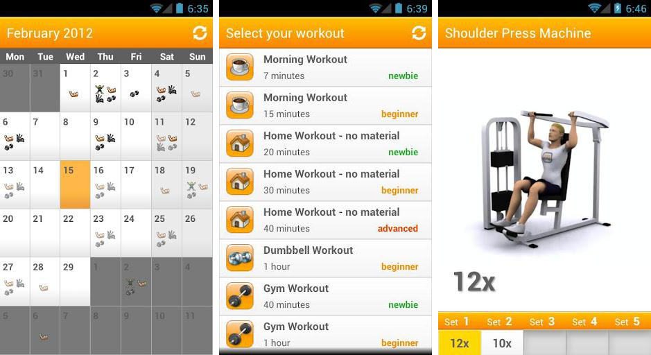 Best Android apps for strength training and weight lifting - Android