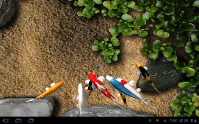 Android Wallpaper Review: Koi Live Wallpaper | Android Central