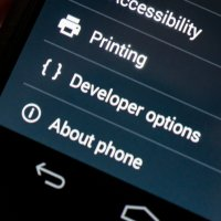 All about your phone's developer options